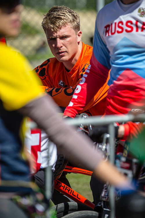 #17 (JONES Trent) NZL at Round 4 of the 2018 UCI BMX Superscross World Cup in Papendal, The Netherlands