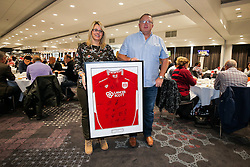 Signed shirt presentation - Rogan Thomson/JMP - 22/10/2016 - FOOTBALL - Ashton Gate Stadium - Bristol, England - Bristol City v Blackburn Rovers - Sky Bet EFL Championship.