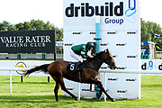 "Lady Natasha ridden by Luke Bacon trained by James Grassick in the """"Hands and Heels"""" Apprentice Handicap - Mandatory by-line: Robbie Stephenson/JMP - 27/08/2019 - PR - Bath Racecourse - Bath, England - Race Meeting at Bath Racecourse"
