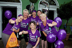 Running for Rebecca Kiran from Clondalkin were Lisa Doyle, Sandra Doyle, Sandra O'Donnell, Pat Doyle, Wendy Doyle and Jessica Doyle.