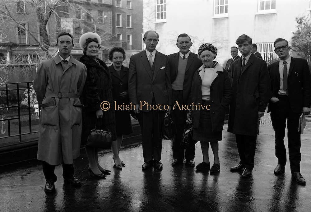 17/11/1964<br /> 11/17/1964<br /> 17 November 1964<br /> <br /> Mr. John Riordan, Mrs Maureen Mullins, Mrs Veronica Connolly, Mr. Jack Lynch(Minister for Industry and Commerce, Mr. Con Lehane, Mrs Mary Toony, Mr. Pat Conway and Mr. Sean Kenny.