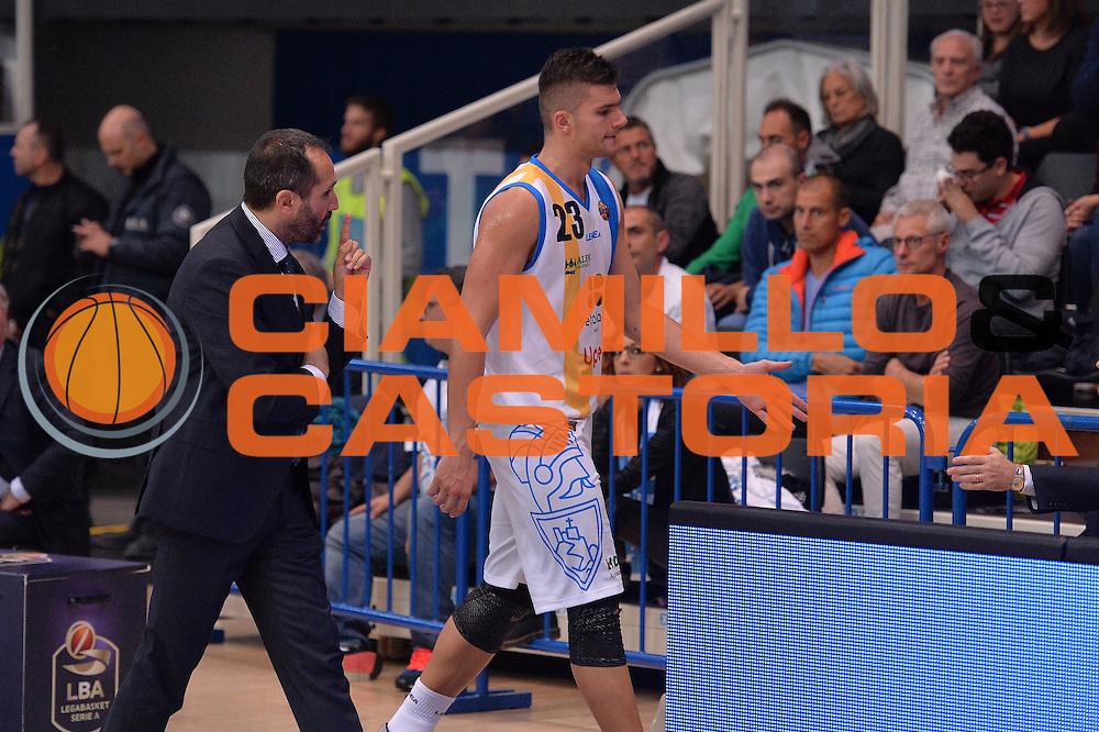 Vojislav Stojanovic<br /> Dolomiti Energia Trentino - Betaland Capo D'Orlando<br /> Lega Basket Serie A 2016/2017<br /> Venezia 23/10/2016<br /> Foto Ciamillo-Castoria