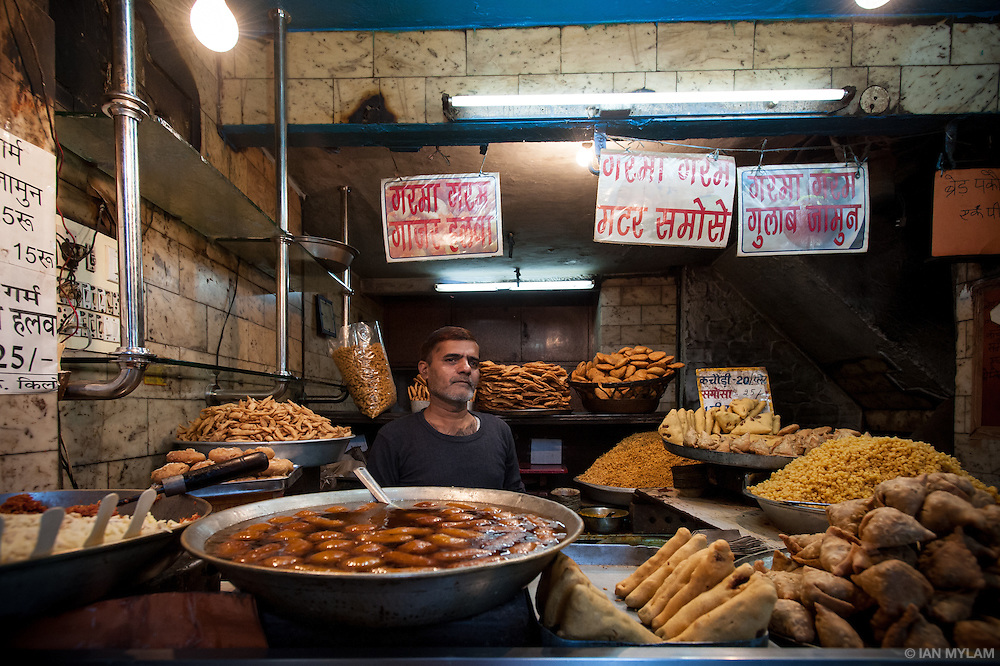 Food Vendor - Old Delhi, India