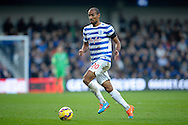 Karl Henry of Queens Park Rangers in action. Barclays Premier league match, Queens Park Rangers v Leicester city at Loftus Road in London on Saturday 29th November 2014.<br /> pic by John Patrick Fletcher, Andrew Orchard sports photography.