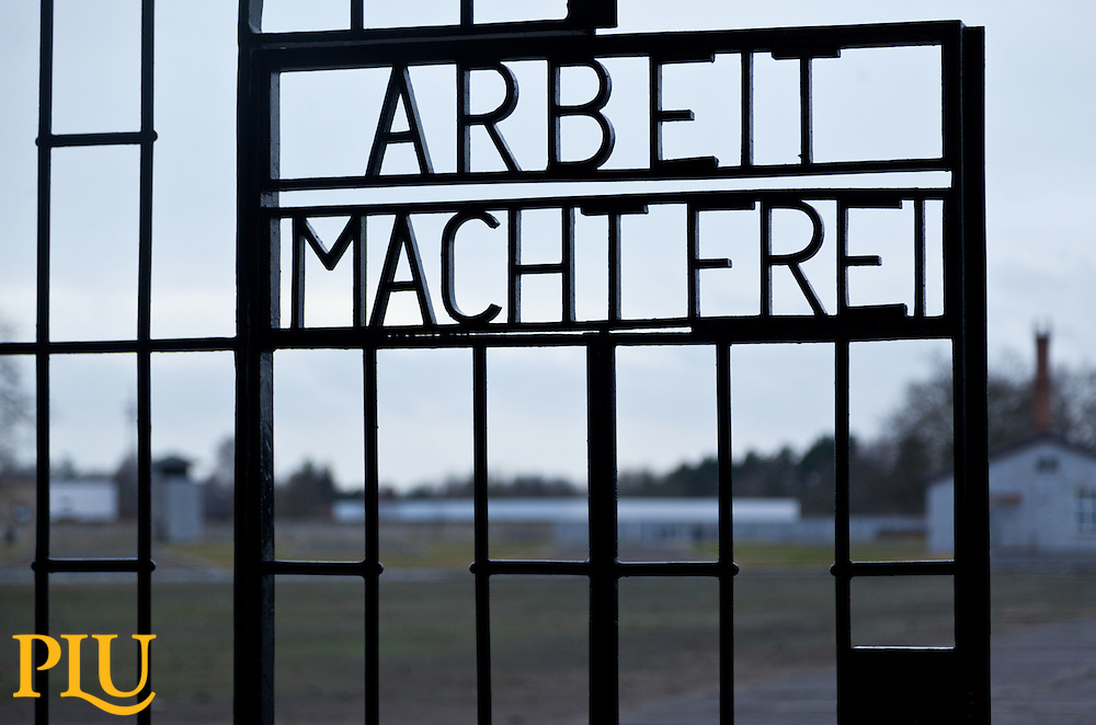 Sachsenhausen Concentration camp in Sachsenhausen, Germany near Berlin visited by the JTerm class on Tuesday, Jan. 27, 2015. (Photo: John Froschauer/PLU)