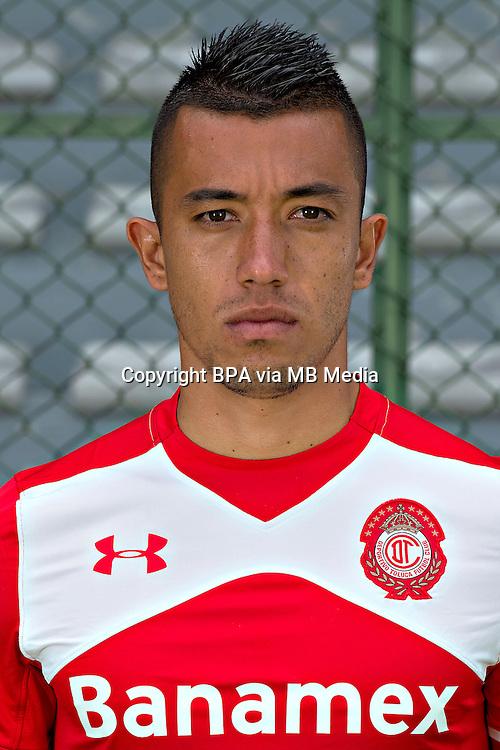 Mexico League - BBVA Bancomer MX 2015-2016 - <br /> Diablos Rojos - Deportivo Toluca Futbol Club - Mexico /  <br /> Fernando Uribe