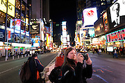 Photographer, Susan Milestone. Times Square, New York.
