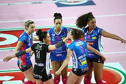 03-05-2017 ITA: Igor Gorgonzola Novara - Liu Jo Volley Modena, Novara<br /> Final playoff match 2 of 5 / Team Novara met Celeste Plak #4<br /> <br /> ***NETHERLANDS ONLY***