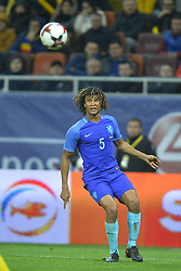 November 14, 2017 - Bucharest, Romania - Nathan Aké (Ned) during International Friendly match between Romania and Netherlands at National Arena Stadium in Bucharest, Romania, on 14 november 2017. (Credit Image: © Alex Nicodim/NurPhoto via ZUMA Press)