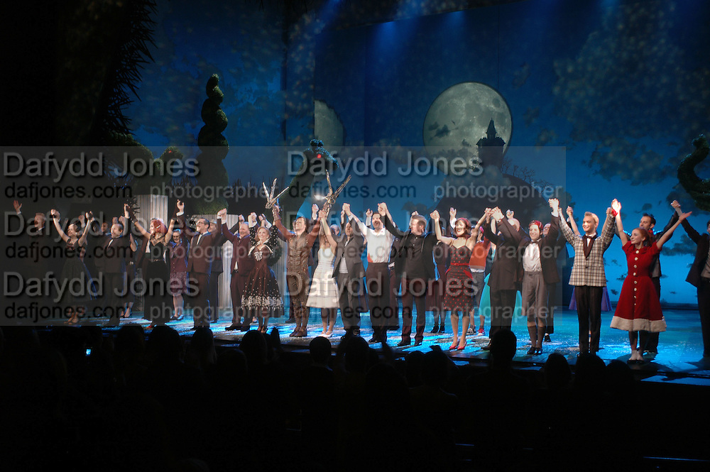 "World Premiere of the theatrical production of ""Edward Scissorhands"" at Sadler's Wells Theatre in London. 30 November 2005. ONE TIME USE ONLY - DO NOT ARCHIVE  © Copyright Photograph by Dafydd Jones 66 Stockwell Park Rd. London SW9 0DA Tel 020 7733 0108 www.dafjones.com"
