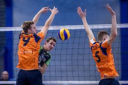 22-10-2016 NED: TT Papendal/Arnhem - Advisie SSS, Arnhem<br /> De Talenten winnen met 3-2 van SSS / Ivar de Waard #9 of Talent Team