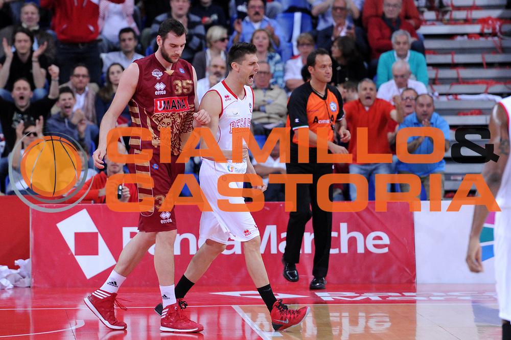 DESCRIZIONE : Pesaro Lega A 2013-14 VL Pesaro Umana Venezia<br /> GIOCATORE : Luigi Dordei<br /> CATEGORIA : esultanza scelta<br /> SQUADRA : VL Pesaro Umana Venezia<br /> EVENTO : Campionato Lega A 2013-2014<br /> GARA : VL Pesaro Umana Venezia<br /> DATA : 11/05/2014<br /> SPORT : Pallacanestro <br /> AUTORE : Agenzia Ciamillo-Castoria/C.De Massis<br /> Galleria : Lega Basket A 2013-2014  <br /> Fotonotizia : Pesaro Lega A 2013-14 VL Pesaro Umana Venezia<br /> Predefinita :