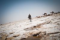 Artisanal salt mining, Danakil Depression, Ethiopia. 2013