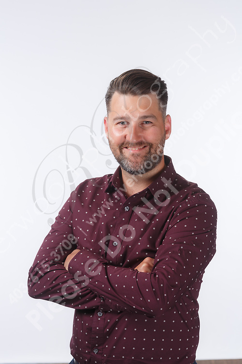 Corporate headshots for use on the company website and marketing collateral, as well as for LinkedIn and other social media marketing profiles.<br /> <br /> &copy;2018, Sean Phillips<br /> http://www.RiverwoodPhotography.com