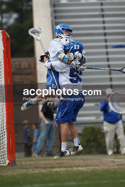 2013 March 16: Josh Dionne #8 of the Duke Blue Devils during a 12-4 win over the Towson Tigers at Koskinen Stadium in Durham, NC.