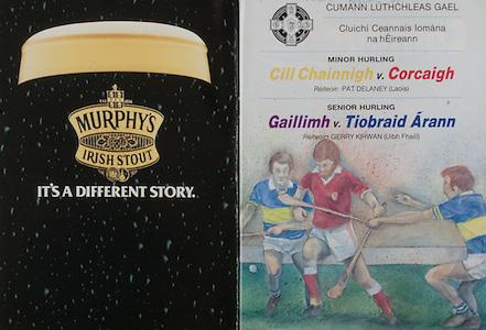 All Ireland Senior Hurling Championship Final, .04.09.1988. 09.04.1988, 4th September 1988,.4091988AISHCF,.Galway 1-15, Tipperary 0-14,.Galway v Tipperary, ..Minor Hurling Kilkenny v Cork,.Senior Hurling Galway v Tipperary, ..Murphy's Irish Stout,