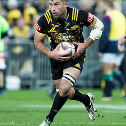 Callum Gibbins during game 8 of the British and Irish Lions 2017 Tour of New Zealand,The match between  Hurricanes and British and Irish Lions, Westpac Stadium, Wellington, Tuesday 27th June 2017<br /> (Photo by Kevin Booth Steve Haag Sports)<br /> <br /> Images for social media must have consent from Steve Haag