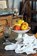 Detail in Paul Cezanne's atelier in his house of aix-en-provence, France
