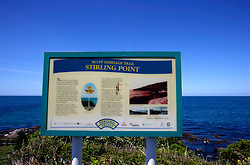 NEW ZEALAND SOUTHLAND BLUFF 22DEC07 - Signage for Bluff Heritage Trail at Stirling Point outside Bluff, New Zealand's most southerly town. Bluff is the oldest European town in New Zealand, being permanently settled since 1824...jre/Photo by Jiri Rezac..© Jiri Rezac 2007..Contact: +44 (0) 7050 110 417.Mobile:  +44 (0) 7801 337 683.Office:  +44 (0) 20 8968 9635..Email:   jiri@jirirezac.com.Web:    www.jirirezac.com..© All images Jiri Rezac 2007 - All rights reserved.