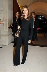 TRINNY WOODALL at an exhibition of David Hockney portraits at the National Portrait Gallery sponsored by Burberry on 11th October 2006.<br /><br />NON EXCLUSIVE - WORLD RIGHTS
