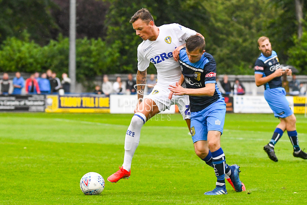 Leeds United Ben White (26) in action during the Pre-Season Friendly match between Tadcaster Albion and Leeds United at i2i Stadium, Tadcaster, United Kingdom on 17 July 2019.