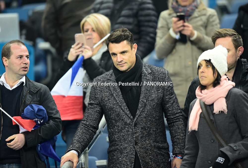 Former All Black Dan Carter pictured in the stands.<br /> France v All Blacks international test at Stade de France, Paris. 26 November 2016.<br /> Copyright photo: Panoramic / www.photosport.nz