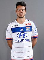 Clement Grenier - 26.08.2015 - Photo officielle Lyon - Ligue 1<br /> Photo : Stephane Guiochon / OL / Icon Sport
