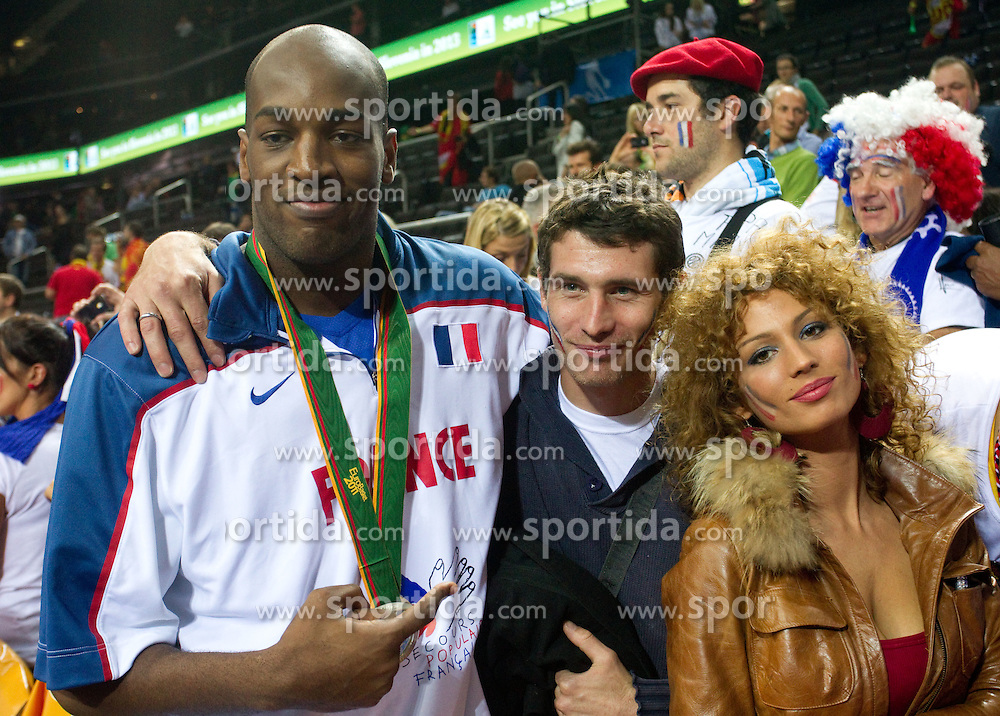 Ali Traore of France after the final basketball game between National basketball teams of Spain and France at FIBA Europe Eurobasket Lithuania 2011, on September 18, 2011, in Arena Zalgirio, Kaunas, Lithuania. Spain defeated France 98-85 and became European Champion 2011, France placed second and Russia third. (Photo by Vid Ponikvar / Sportida)
