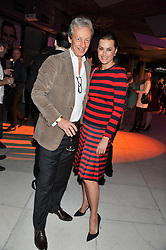 PERRY OOSTING and YASMIN LE BON at the Vogue Festival Party 2013 in association with Vertu held at the Queen Elizabeth Hall, Southbank Centre, London SE1 on 27th April 2013.