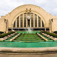 Picture of Cincinnati Museum Center in Cincinnati, Ohio. Cincinnati Museum Center.at Union Terminal is a Art Deco Historic Landmark that was originally the Cincinnati Union Terminal train station and was later converted into a museum.