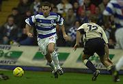 29/11/2003 - Photo  Peter Spurrier.2003/04 Nationwide Football Div 2 QPR V Sheffield Wed. Kevin Gallen run's into midfield