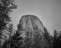 Devils Tower. Image taken with a Nikon D200 camera and 18-70 mm kit lens (ISO 100, 18 mm, f/5.6, 1/320 sec).