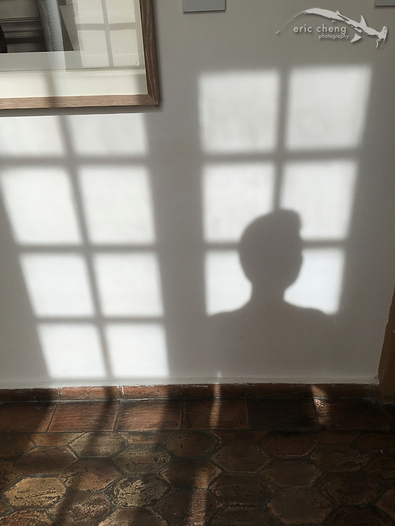 Silhouette, in the Picasso museum
