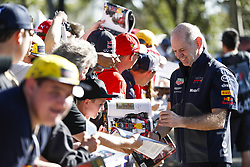 March 22, 2018 - Melbourne, Victoria, Australia - HORNER Christian  (gbr), Team Principal of Red Bull Racing, portrait autographs with fans during 2018 Formula 1 championship at Melbourne, Australian Grand Prix, from March 22 To 25 - Photo  Motorsports: FIA Formula One World Championship 2018, Melbourne, Victoria : Motorsports: Formula 1 2018 Rolex  Australian Grand Prix, (Credit Image: © Hoch Zwei via ZUMA Wire)