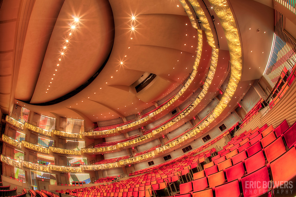 Muriel Kauffman Theatre at the Kauffman Center for the Performing Arts in Kansas City, Missouri.