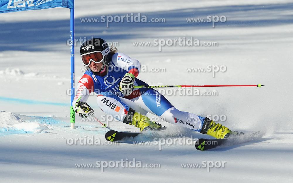 28.12.2015, Hochstein, Lienz, AUT, FIS Weltcup Ski Alpin, Lienz, Riesenslalom, Damen, 1. Durchgang, im Bild Simone Wild (SUI) // Simone Wild of Switzerland during 1st run of ladies Giant Slalom of the Lienz FIS Ski Alpine World Cup at the Hochstein in Lienz, Austria on 2015/12/28. EXPA Pictures © 2015, PhotoCredit: EXPA/ Erich Spiess