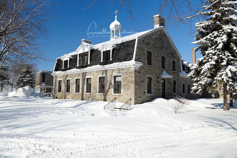 Winter at Manoir D' Youville, Saint Bernard Island, Chateauguay, Quebec, Canada