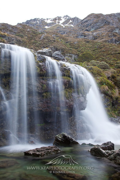 Routeburn Falls, Fiordland, New Zealand