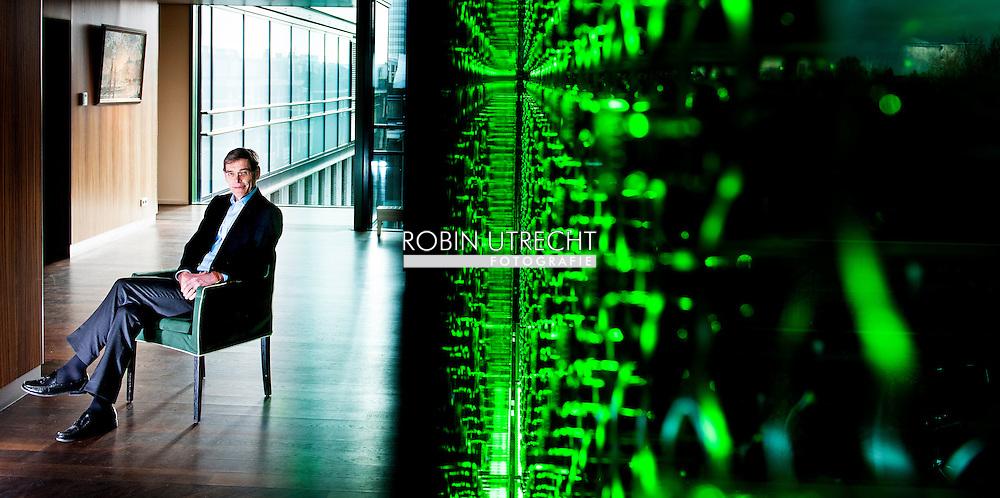 AMSTERDAM - portret van financieel directeur René Hooft Graafland van Heineken COPYRIGHT ROBIN UTRECHT