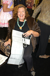 MEREDITH ETHERINGTON-SMITH at a private view of the 2004 Frieze Art Fair - a major exhibition attended by most of the leading contempoary art dealers held in Regents Park, London on 14th October 2004.NON EXCLUSIVE - WORLD RIGHTS