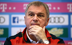 Montenegro Head Coach Ljubisa Tumbakovic during the press conference at the Football Association of Montenegro, Podgorica.