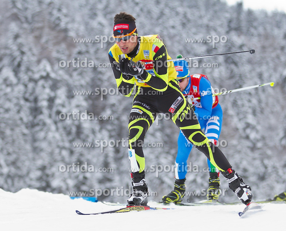 19.12.2011, Casino Arena, Seefeld, AUT, FIS Nordische Kombination, Langauf 10 km, im Bild Janson Lamy Chappuis (FRA) // Janson Lamy Chappuis of France during the cross-country skiing 10 km at FIS Nordic Combined World Cup in Sefeld, Austria on 20111211. EXPA Pictures © 2011, PhotoCredit: EXPA/ P.Rinderer