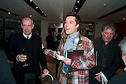 NEIL TENNANT; RUFUS WAINWRIGHT, Prima Donna opening night. Sadler's Wells Theatre, Rosebery Avenue, London EC1, Premiere of Rufus Wainwright's opera. 13 April 2010
