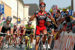 08.07.2011, AUT, 63. OESTERREICH RUNDFAHRT, 6. ETAPPE, HAINBURG-BRUCK AN DER LEITHA, im Bild der Etappensieger Greg Van Avermaet, (BEL, BMC Racing Team) // during the 63rd Tour of Austria, Stage 6, 2011/07/08, EXPA Pictures © 2011, PhotoCredit: EXPA/ S. Zangrando