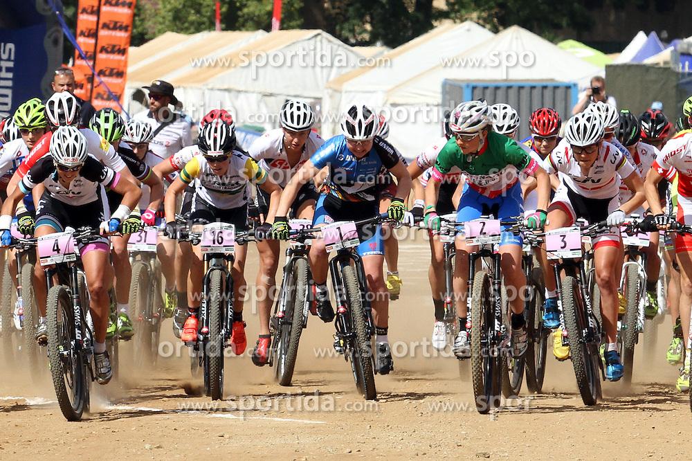 Tanja Zakelj  during UCI MTB World Cup  race on April 2014 / Photo by Grega Stopar / Sportida