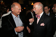 Brian Stein and Anton Mosimann , PJ's Annual Polo Party . Annual Pre-Polo party that celebrates the start of the 2007 Polo season.  PJ's Bar & Grill, 52 Fulham Road, London, SW3. 14 May 2007. <br />  -DO NOT ARCHIVE-© Copyright Photograph by Dafydd Jones. 248 Clapham Rd. London SW9 0PZ. Tel 0207 820 0771. www.dafjones.com.