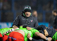 Boris Stankovich scrum coach of Leicester Tigers<br /> <br /> Photographer Simon King/Replay Images<br /> <br /> European Rugby Challenge Cup Round 2 - Cardiff Blues v Leicester Tigers - Saturday 23rd November 2019 - Cardiff Arms Park - Cardiff<br /> <br /> World Copyright © Replay Images . All rights reserved. info@replayimages.co.uk - http://replayimages.co.uk