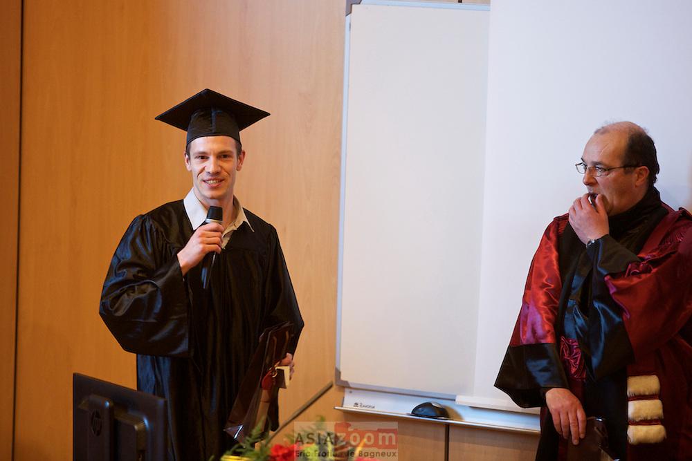 Remise de diplôme 2014 aux Docteurs de l'Université de Bretagne Sud