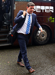 Bristol Rovers manager Darrell Clarke arrives at Gigg Lane - Mandatory by-line: Matt McNulty/JMP - 19/08/2017 - FOOTBALL - Gigg Lane - Bury, England - Bury v Bristol Rovers - Sky Bet League One