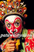 Monkey god, Sun Wu Kung, in Peking opera performance, Peking, china
